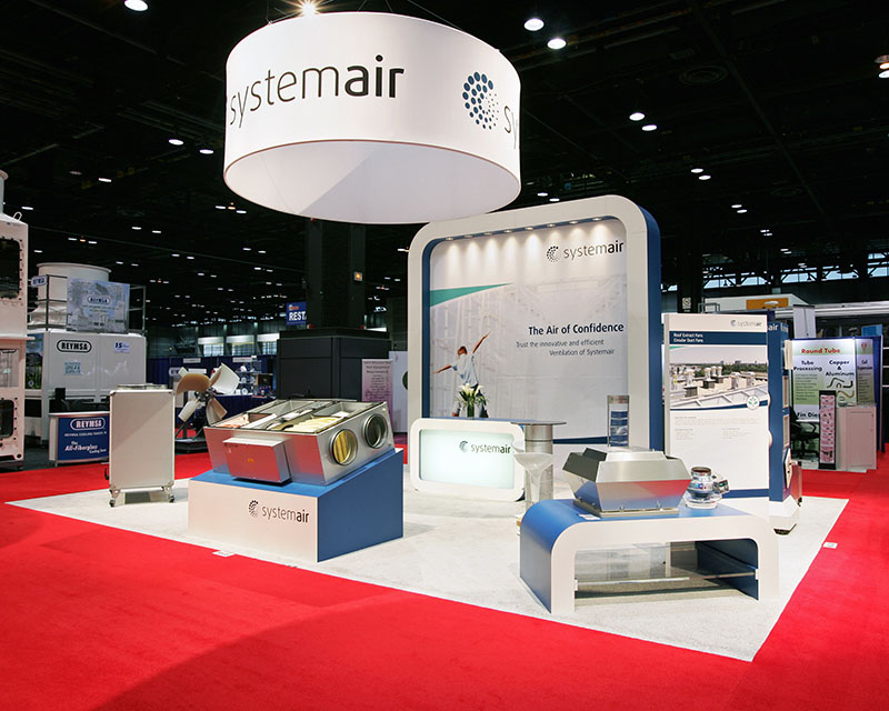 Our creative exhibit design for Systemair