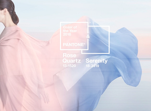 Rose Quartz and Serenity, Pantone's Colors for 2016