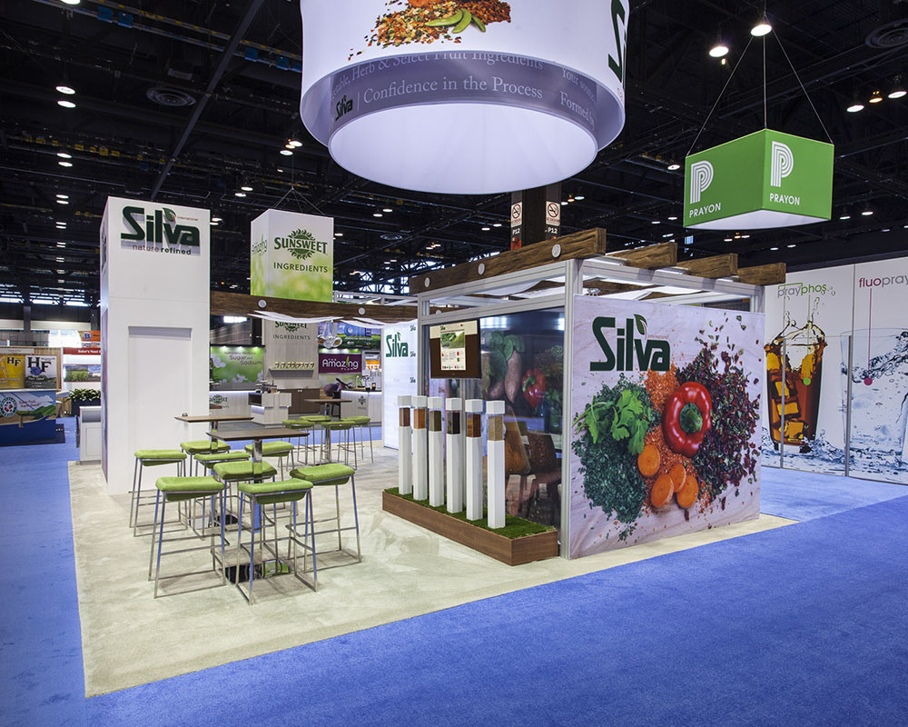 Silva Trade Show Exhibit - Side