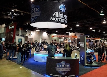 Allstate Trade Show Exhibit - Old