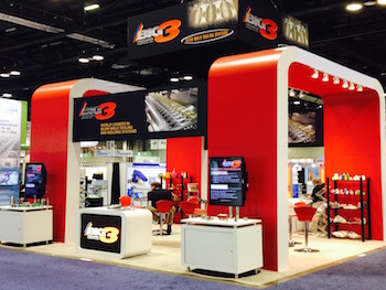 Big 3 Trade Show Exhibit - Digital