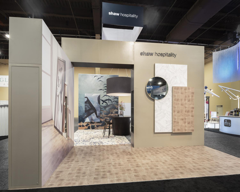 Nimlok Chicago custom trade show exhibit - Shaw- HD Expo